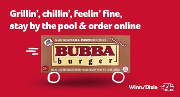 Grillin', chillin', feelin' fine, stay by the pool & order online