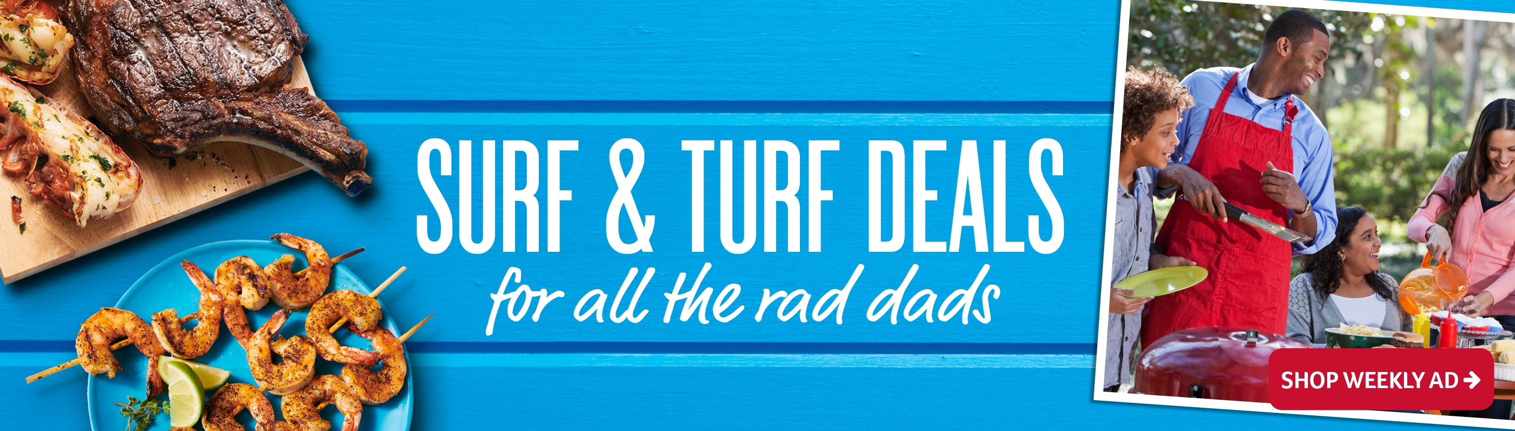 surf and turf deals for all the rad dads