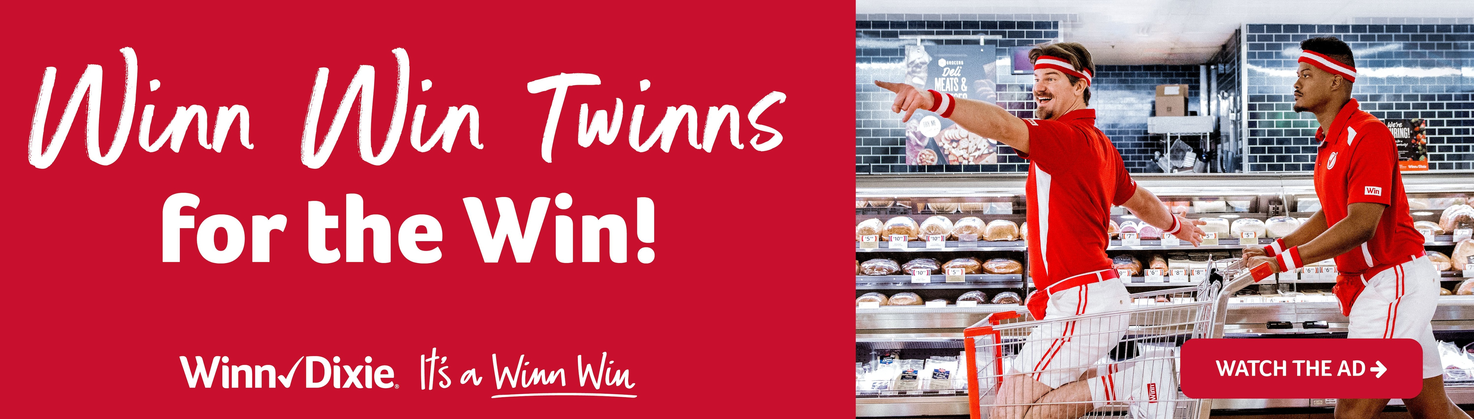 Winn Win Twinns for the Win! Watch the ad now